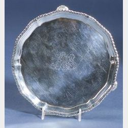 Small George III Silver Salver
