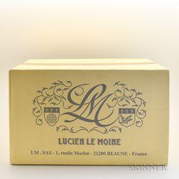 Hospices de Beaune Lucien le Moine En Memoire de Barry (Papa) Lang Volnay Cuvee Blondeau 2013, 6 bottles (oc)