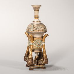 Royal Worcester Persian-style Vase