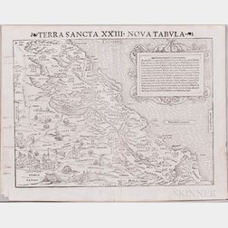 Holy Land/Middle East, Thirteen Maps, 16th Century.