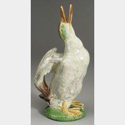 Earthenware Duck-Form Jug