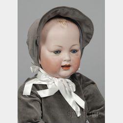 Hertel & Schwab Bisque Head Character Boy