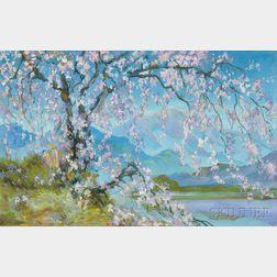 William Penhallow Henderson (American, 1877-1943)      Springtime