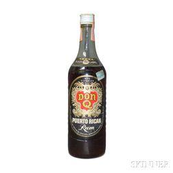 Don Q Black Label Puerto Rican Rum, 1 4/5 quart bottle