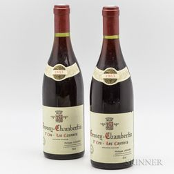 P Leclerc Gevrey Chambertin Les Cazetiers 1983, 2 bottles