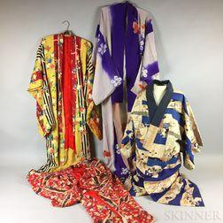 Four Kimonos