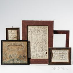 Five Framed Items