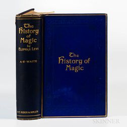 Levi, Eliphas (1810-1875) The History of Magic  , with Arthur Edward Waite (1857-1942) Autograph Letter Signed.