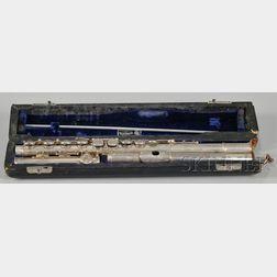 American Silver Flute, William S. Haynes Company, Boston, 1969