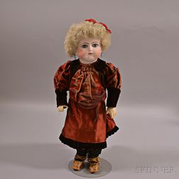 Bébé Schmitt & Fils Bisque Head Doll