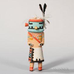 Hopi Tasaf or Navajo Katsina