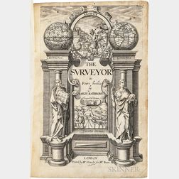 Rathborne, Aaron (1572-1618) The Surveyor in Foure Bookes.