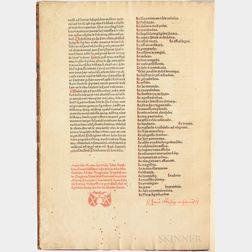 Clemens V, Pope, formerly Raimundus Bertrandi del Goth (c. 1264-1314) Constitutiones.