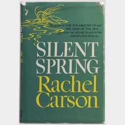 Carson, Rachel (1907-1964) Silent Spring  , First Edition.