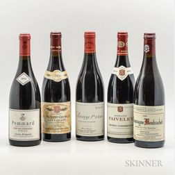 Mixed Burgundy, 5 bottles
