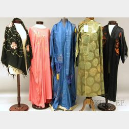 Five Continental Garments