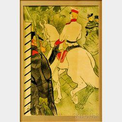 After Henri de Toulouse-Lautrec (French, 1864-1901)      Babylone d'Allemagne