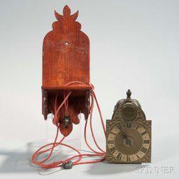 William Mayhew Miniature Alarm Lantern Clock