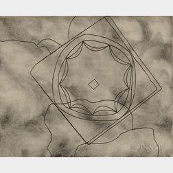 Ben Nicholson (British, 1894-1982)      Olympic Fragment
