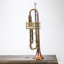 Trumpet, C.G. Conn 12B Coprion, Elkhart