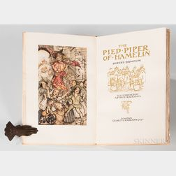 Rackham, Arthur, illus. (1867-1939) Robert Browning's The Pied Piper of Hamelin,   Signed Limited Edition.