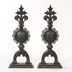 Two Christopher Dresser-style Architectural Elements
