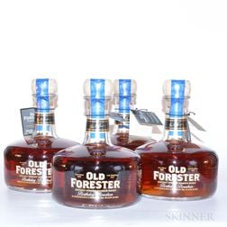 Old Forester Birthday Bourbon 12 Years Old 2005, 4 750ml bottles