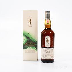 Lagavulin 21 Years Old 1991, 1 750ml bottle (oc)