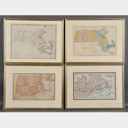 Massachusetts, Five Maps.