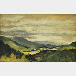 Louis Michel Eilshemius (American, 1864-1941)      Landscape
