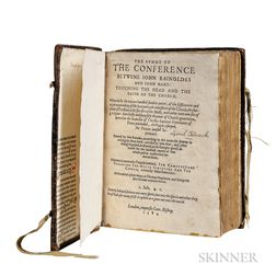 Rainolds, John (1549-1607) The Summe of the Conference betwene John Rainoldes and John Hart: Touching the Head and the Faith of the Chu