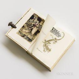 Rackham, Arthur, illus. (1867-1939) Edgar Allan Poe's Tales of Mystery & Imagination  , Signed Limited Edition.
