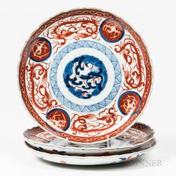 Set of Three Imari Plates