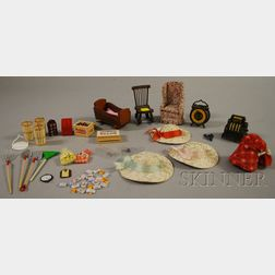 Small Group of Doll Furniture and Accessories