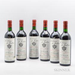 La Dame de Montrose 1990, 6 bottles