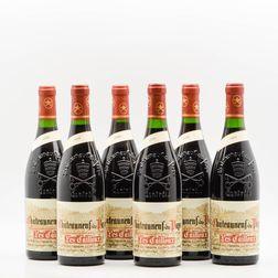 Lucien et Andre Brunel Chateauneuf du Pape Vieilles Vignes 1998, 6 bottles