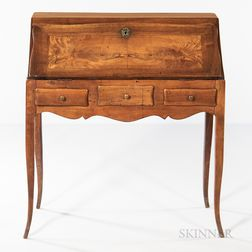 Louis XV-style Fall-front Writing Desk