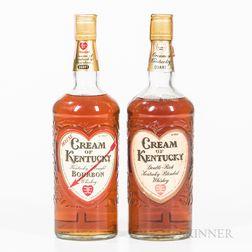 Cream of Kentucky, 2 quart bottles