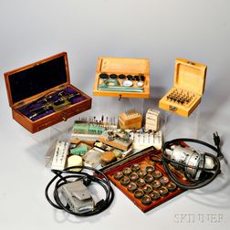 Collection of Horological Tools