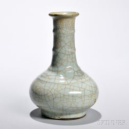 Ge Ware Bottle Vase
