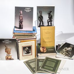 Collection of Tribal Art Auction Catalogs