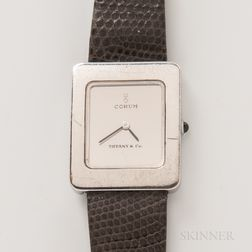 Sterling Silver Corum for Tiffany & Co. Wristwatch
