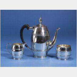 Tiffany & Co. Sterling Silver Three Piece Coffee Service