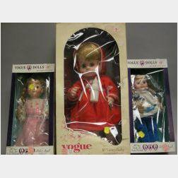 Three Vogue Dolls