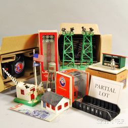 Fifteen Lionel Trains and Group of Train Accessories