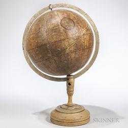 Giovanni Maria Cassini 12-inch Terrestrial Globe