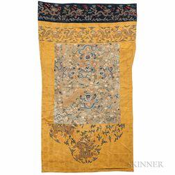 """Monk's Robe"" with Ming K'ossu Panels"