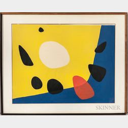 Alexander Calder (American, 1898-1976)      Composition
