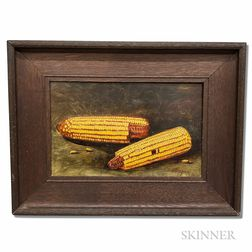 Alfred Montgomery (American, 1857-1922)       Still Life with Corn