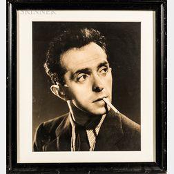 Attributed to Siegfried Colten (American/European, 20th Century)      Portrait of Raphael Soyer.